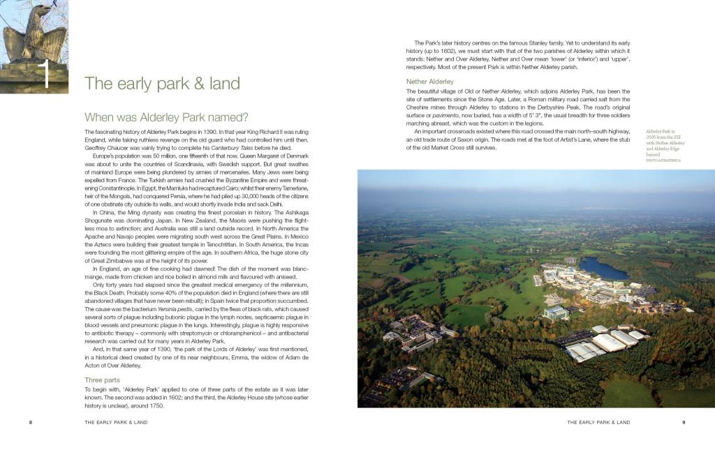 Alderley Park Spread